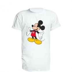 Подовжена футболка Mickey Mouse