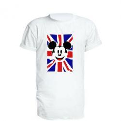 Удлиненная футболка Mickey Swag