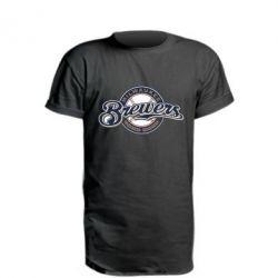 Подовжена футболка Milwaukee Brewers