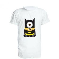 Подовжена футболка Minion Batman