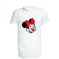 Удлиненная футболка Минни Маус