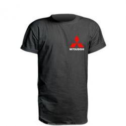 Удлиненная футболка Mitsubishi small