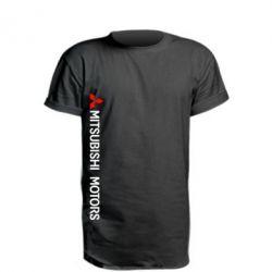 Подовжена футболка Mitsubishi vert