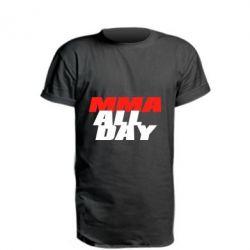 Удлиненная футболка MMA All day
