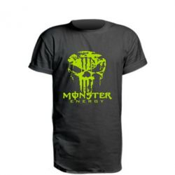 Подовжена футболка Monster Energy Череп
