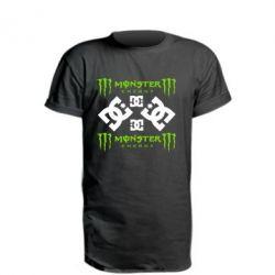 Подовжена футболка Monster Energy DC Logo