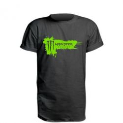 Подовжена футболка Monster Energy Drink