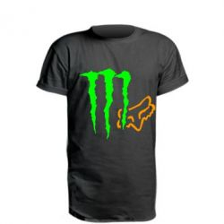 Подовжена футболка Monster Energy FoX