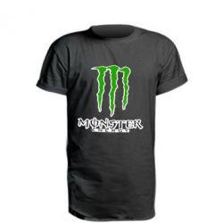 Подовжена футболка Monster Energy Logo