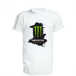 Удлиненная футболка Monster Energy Paint - FatLine