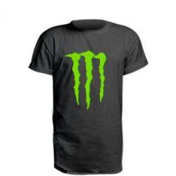 Подовжена футболка Monster Lines