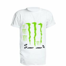 Удлиненная футболка Monster One