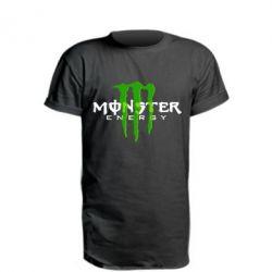 Удлиненная футболка Monter Energy Classic
