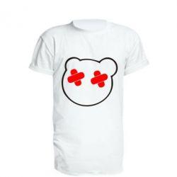 Удлиненная футболка мордочка - FatLine
