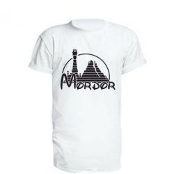 Удлиненная футболка Mordor (Властелин Колец) - FatLine