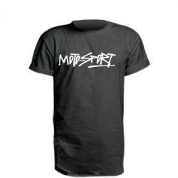 Подовжена футболка MOTO SPORT