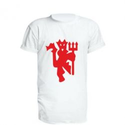 Подовжена футболка MU