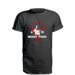 Удлиненная футболка Muay Thai Full Contact