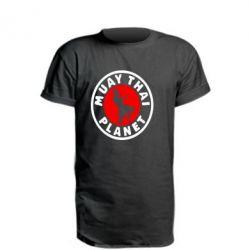 Подовжена футболка Muay Thai Planet