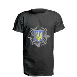 Подовжена футболка МВС України