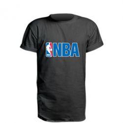 Удлиненная футболка NBA Logo