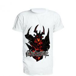 Удлиненная футболка Nevermore Art