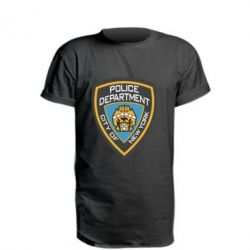 Удлиненная футболка New York Police Department
