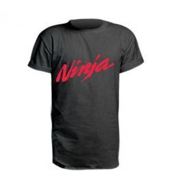 Удлиненная футболка Ninja