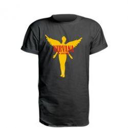 Удлиненная футболка Nirvana In Untero