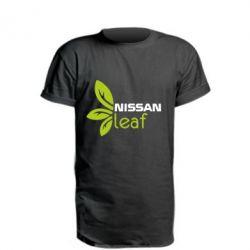 Удлиненная футболка Nissa Leaf