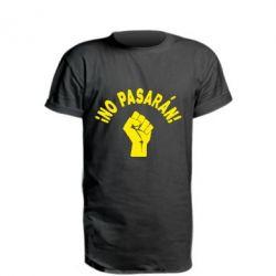 Подовжена футболка No Pasaran