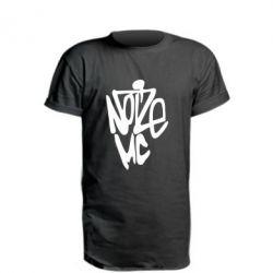 Удлиненная футболка Noize MC