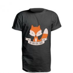 Удлиненная футболка Of for fox sake - FatLine