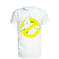 Удлиненная футболка Охотники за привидениями