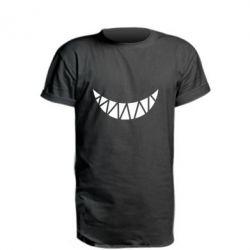 Подовжена футболка Охра