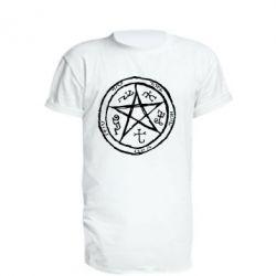 Подовжена футболка Окультний символ Надприродне