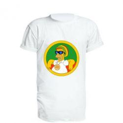 Подовжена футболка One love