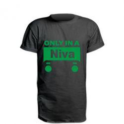 Удлиненная футболка Only Niva