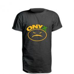 Купить Удлиненная футболка Onyx, FatLine