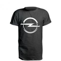Подовжена футболка Opel Log