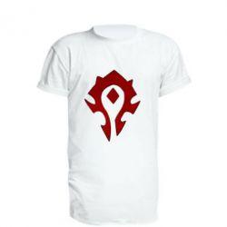 Купить World of Warcraft, Удлиненная футболка Орда, FatLine