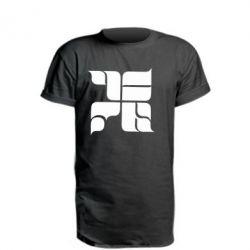 Удлиненная футболка Оу74 Танкоград - FatLine