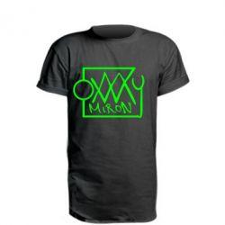 Удлиненная футболка OXXXY Miron