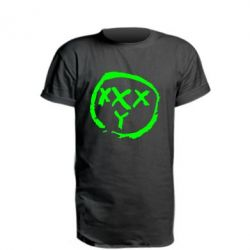 Удлиненная футболка Oxxxy