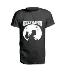 Удлиненная футболка Oxxxymiron Долгий путь домой