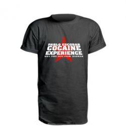 Удлиненная футболка Pablo Escobar