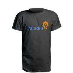 Удлиненная футболка Paladin