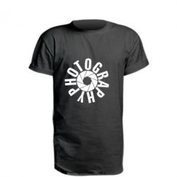 Удлиненная футболка Photography