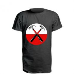 Подовжена футболка Pink Floyd Main Logo