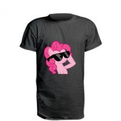 Удлиненная футболка Pinkie Pie Cool